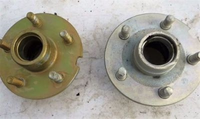 Buy 1965 1966 1967 Ford Mustang Cougar Front Wheel Hub 8 Cyl Drum Brakes Plated motorcycle in Richardson, Texas, United States, for US $42.00