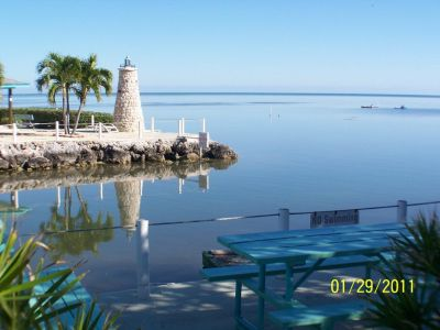 Ocean Side Boating Canal vacant Condo RV lot for rent Marathon