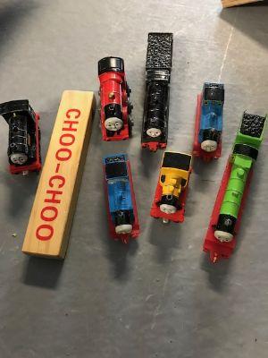 Thomas metal trians plus train whistle