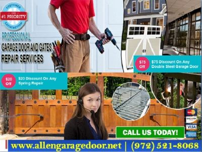 Only start with $26.95 on Gate Repair & New Gate Installation in Allen TX