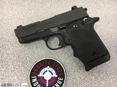 For Sale: Sig Sauer P938 9mm W/Hogue Grips and Extras!!!