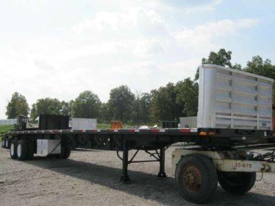 $20,900, 2006 Transcraft 48#39; x 102 Flatbed Moffett Trailer