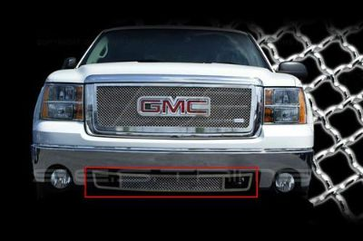 Purchase SES Trims TI-MG-151B 07-13 GMC Sierra Billet Grille Mesh Grill Chromed motorcycle in Bowie, Maryland, US, for US $286.35