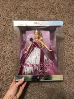 New In Box 2005 Holiday Barbie - Bob Mackie Edition