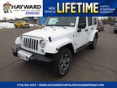 2018 Jeep Wrangler Unlimited White, 18 miles