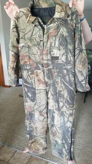 Liberty Youth Camo Coveralls Size 8