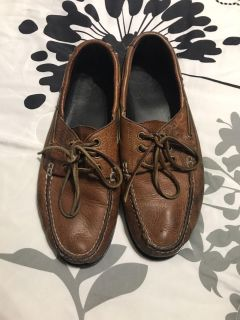 Men s Polo Boat Shoes Used Condition