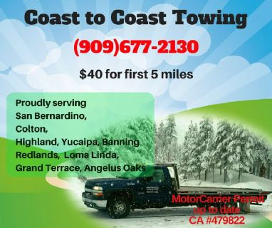 Towing Service for San Bernardino
