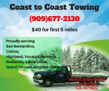 Towing Service for San Bernardino
