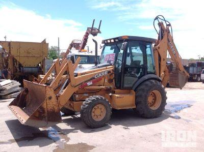 2005 Case 590 Super M Series 2 4x4 Backhoe Loader