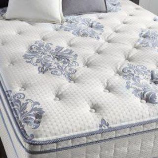 Display Mattress- Queen Size- Serta Perfect Sleeper Valleybrook Cushion Firm Eurotop 12.5 in Mattress with Used Box Spring