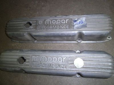 Buy Mopar Valve Covers vintage restoration hot rat rod motorcycle in Joliet, Illinois, United States, for US $299.95