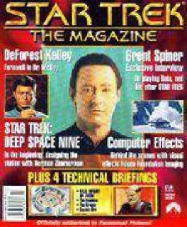 $350 STAR TREK THE MAGAZINE Limited Publication Includes Every Issue Pub