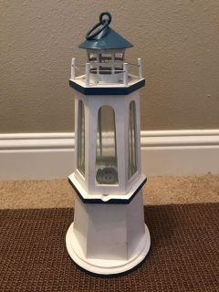 Wood and Metal Lighthouse