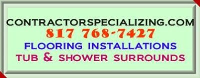 Contractor Specializing flooring installations contractor.
