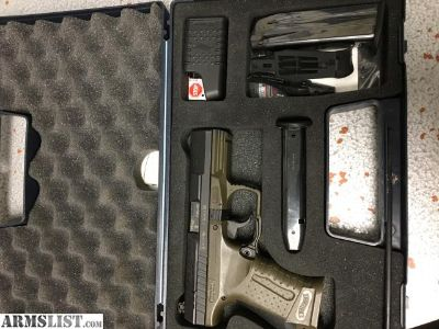 For Sale: Olive Drab Walther P99 QA 9mm