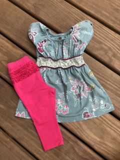 Tea Collection dress 6-12 months-great condition!