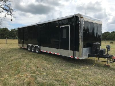 2009 Forest River Custom Toy Hauler with Living Quarters
