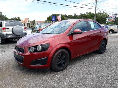 2013 Chevrolet Sonic LT Auto (RED)