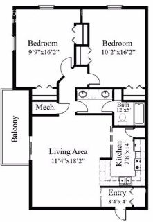 2 bedroom in Allendale