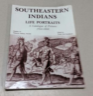 Soft Cover Book Southeastern Indians Life Portraits