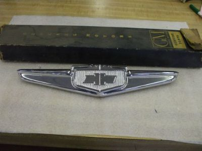 Purchase 1949 Chevy hood emblem newly plated L@@@@@@@@@@@@@@@@K motorcycle in Springfield, Ohio, United States, for US $225.00