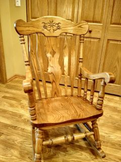 Oak Rocking Chair in Cary