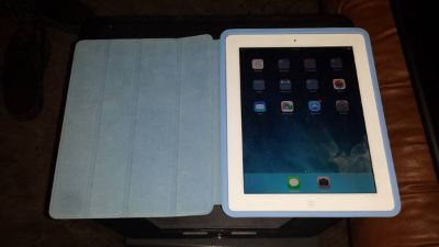 iPad 4th Generation with a case-stand