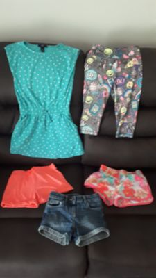Size 6 summer clothing lot