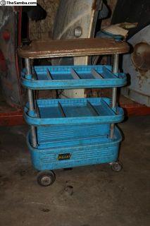 "1950's Hazet Assistant 162 Tool Cart ""a"""