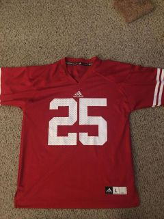 Never worn Wisconsin badgers youth large jersey