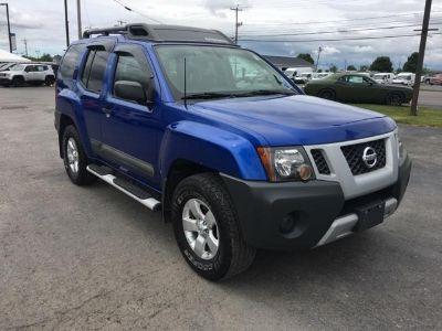 2012 Nissan Xterra X (Metallic Blue)