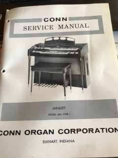 Conn Organ-Minuet Model 460