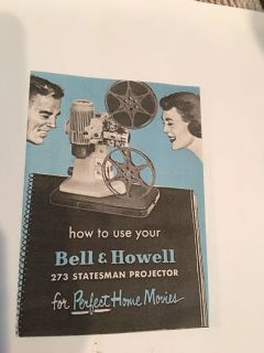 Vintage Bell & Howell Movie Projector
