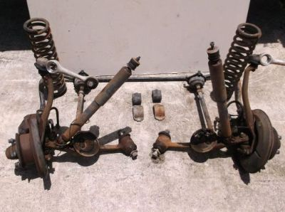 Find w123 mercedes 240d complete front suspension with brakes, left, right. or all motorcycle in Homestead, Florida, United States, for US $500.00