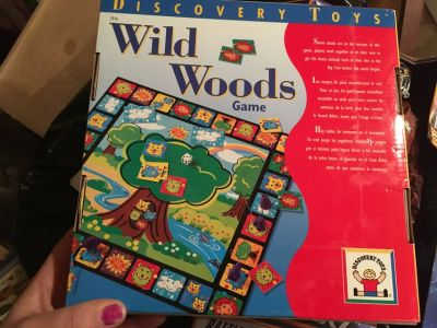Wild Woods board game