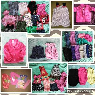 Lot of 24 months baby girl clothes