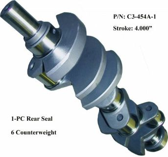 Sell SGI Forged 4340 Steel Crankshaft BBC 4.000 4.250 4.375 4.500 4.625 Stroke & kit motorcycle in Rowland Heights, California, United States, for US $525.00