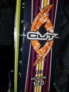 Rossignol downhill energy dualtech cut skis