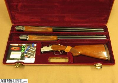 For Sale: Beretta Model 686 Silver Pigeon Combo, 20 and 28 Gauge Barrels, Cased