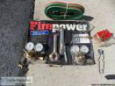 Fire Power Welding and Cutting outfit