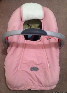 Baby Infant Pink Carrier Cover