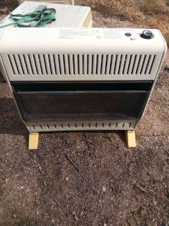 Heater heats 1500 square feet