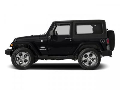2017 Jeep Wrangler Sahara (Black Clearcoat)