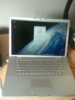 Apple MacBookPro4,1 15.4 (2008), Core 2 Duo, 4 GB RAM, X.11