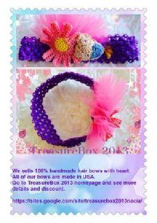 $10 Handmade Happy Bird In Spring Headband/made in USA/33% off