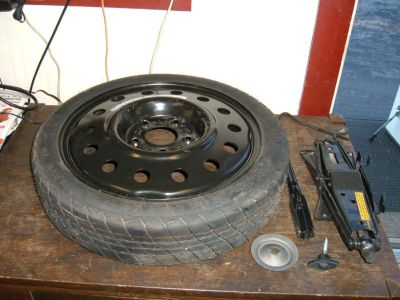 Buy 1998 Camero Z28 RS, Transam Formula Spare Tire & Jack Assembly w/all Hardware motorcycle in Fenton, Missouri, US, for US $49.95