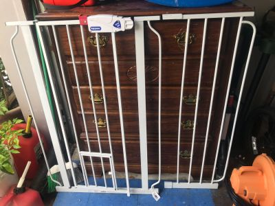 Top paw extra tall gate