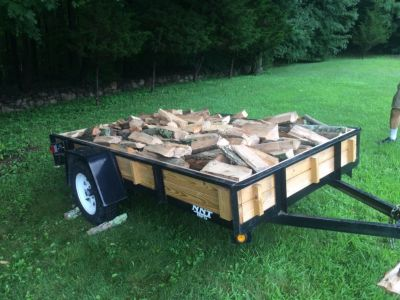 Firewood Hardwood 1/2 cord split delivered $120
