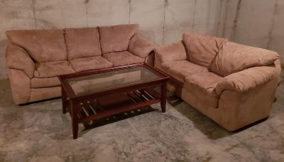 Couch, Loveseat and Coffee Table